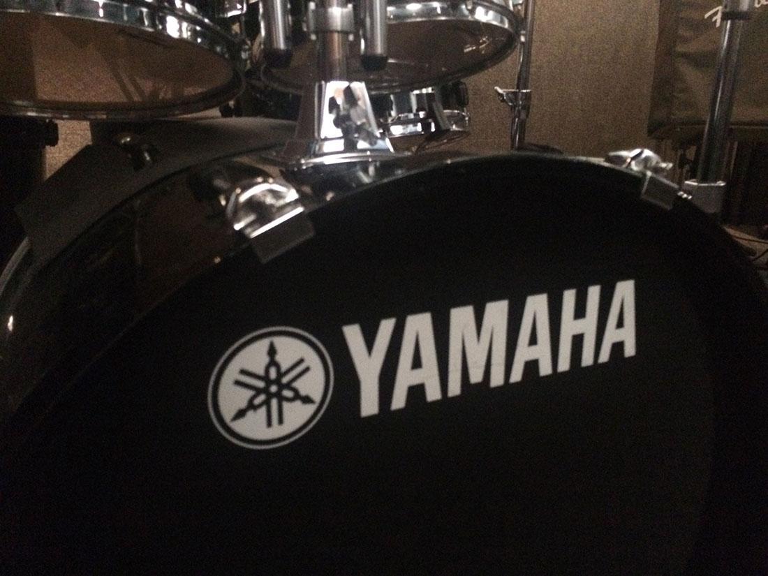 Yamaha Stage Custom Advantage Drum Kit (5 piece, Red)