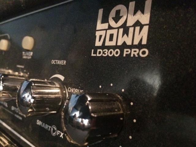 Line 6 LOWDOWN LD300 Pro 1×15 Bass Amp closeup