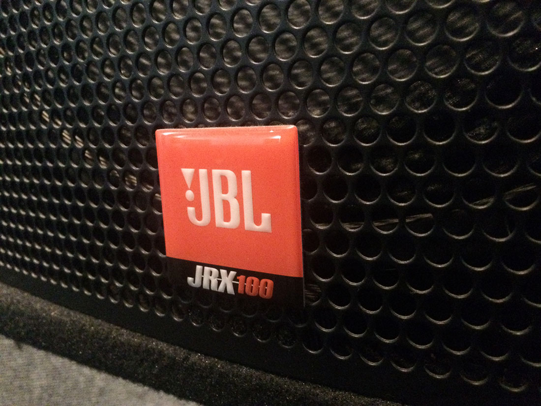 JBL JRX-100 Speakers