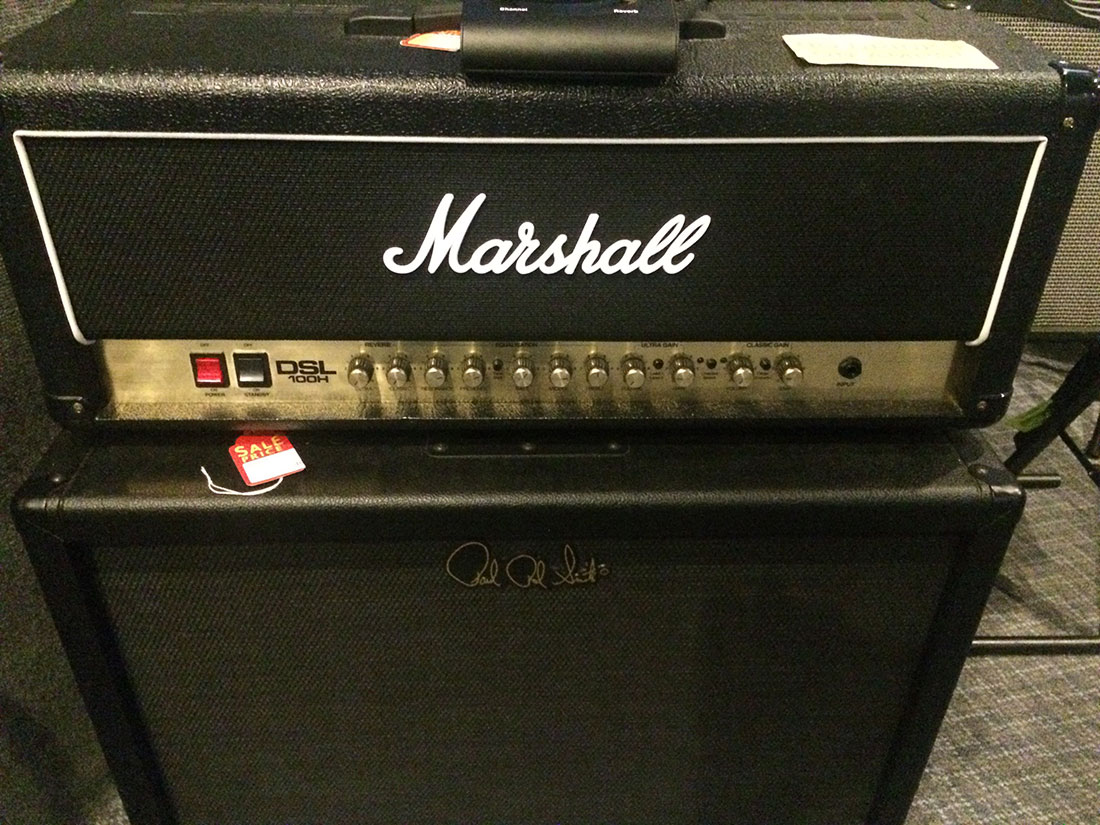 Marshall DSL100H 100W All‑Tube Guitar Amp