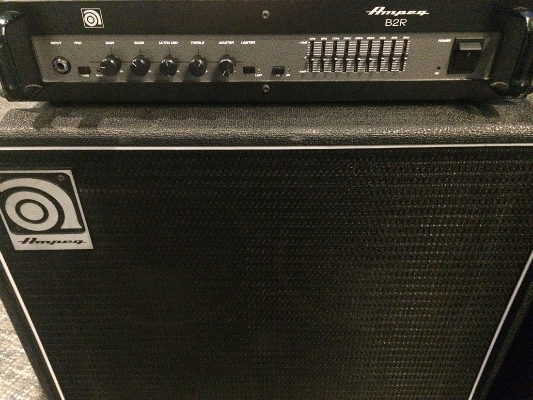 Ampeg B2R and speaker cab