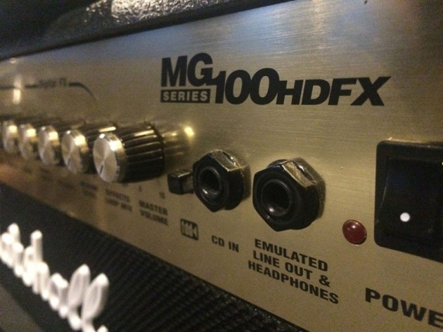 Marshall MG100HDFX 100Watt Head Guitar Amp