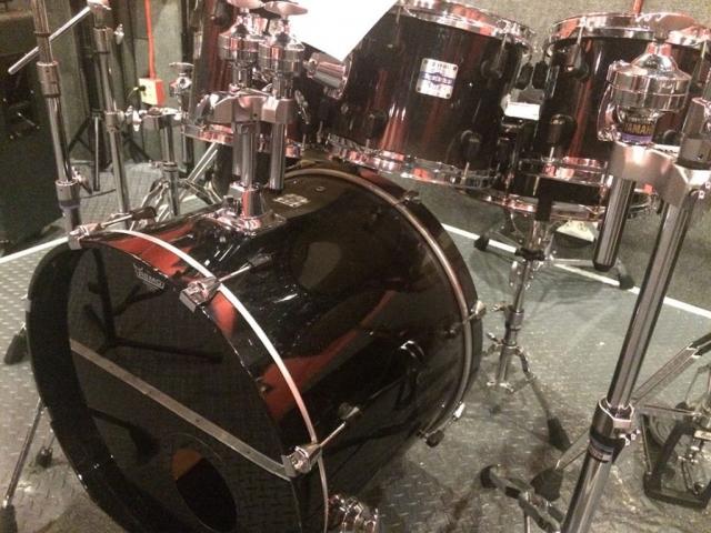 Yamaha Stage Custom Nouveau Drum Kit (7 piece, Black Fade)