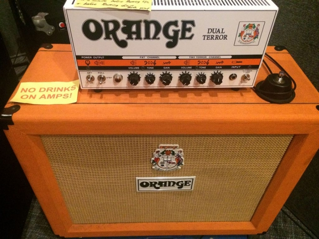 Orange Dual Terror Head Guitar Amp
